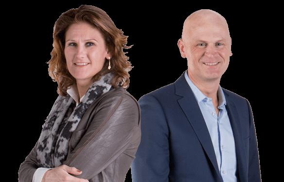 Agnes Everts en Gerrit Jan Bekman