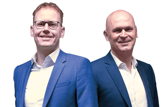 Frank Ikink en Gerrit Jan Bekman